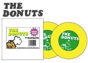 """Dr. Suzuki Donuts slipmats for 7""""s"""