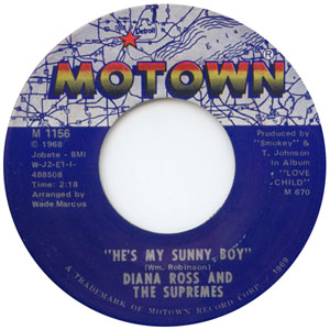 Diana ross and the supremes hes my sunny boy