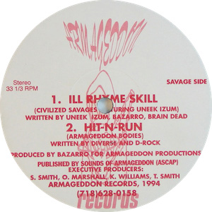 Ill rhyme small